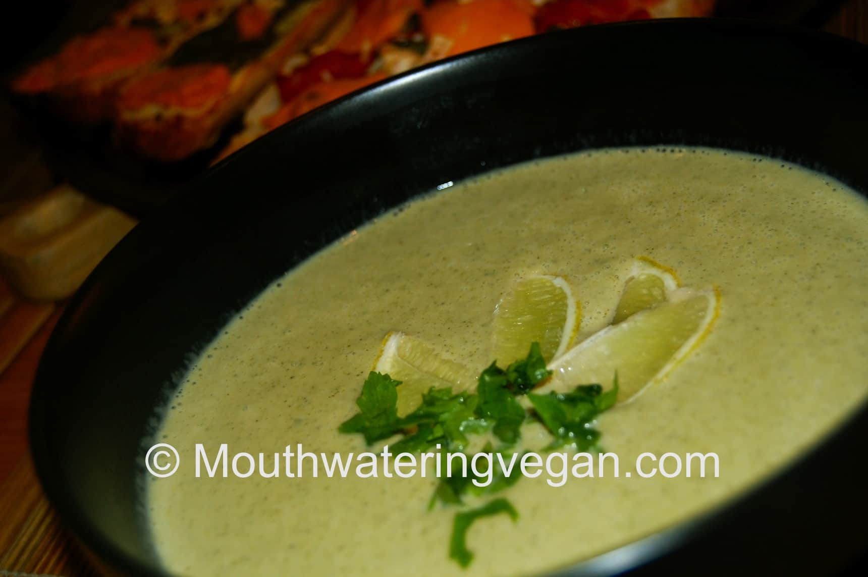 Cream of Coconut & Broccoli Soup - Mouthwatering Vegan Recipes